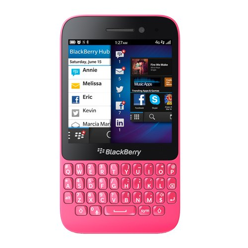 BlackBerry Q5 Unlocked GSM 4G LTE - Pink no warranty - Unlocked Blackberry