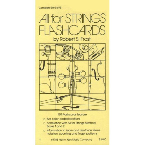 - All For Strings - Theory Workbook 1 Flashcards by Gerald E Anderson and Robert S Frost