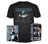 'Part Man Part Machine All Cop' Limited VHS Retro Packaging 100% Cotton Black T-Shirt Property of O.C.P. Robocop Bundle Size Adult Medium (M) & DVD