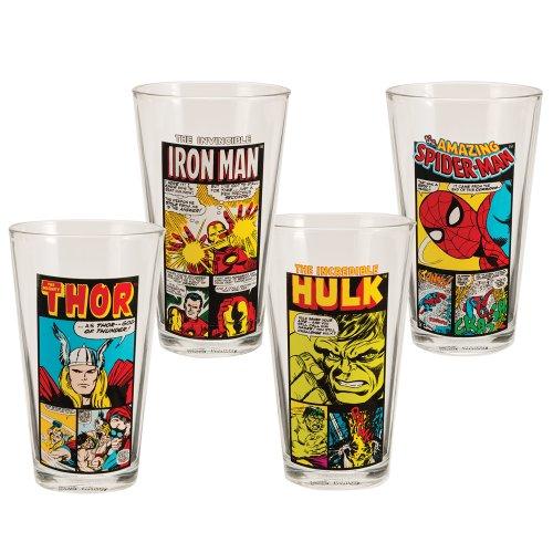 marvel pint glasses - 1