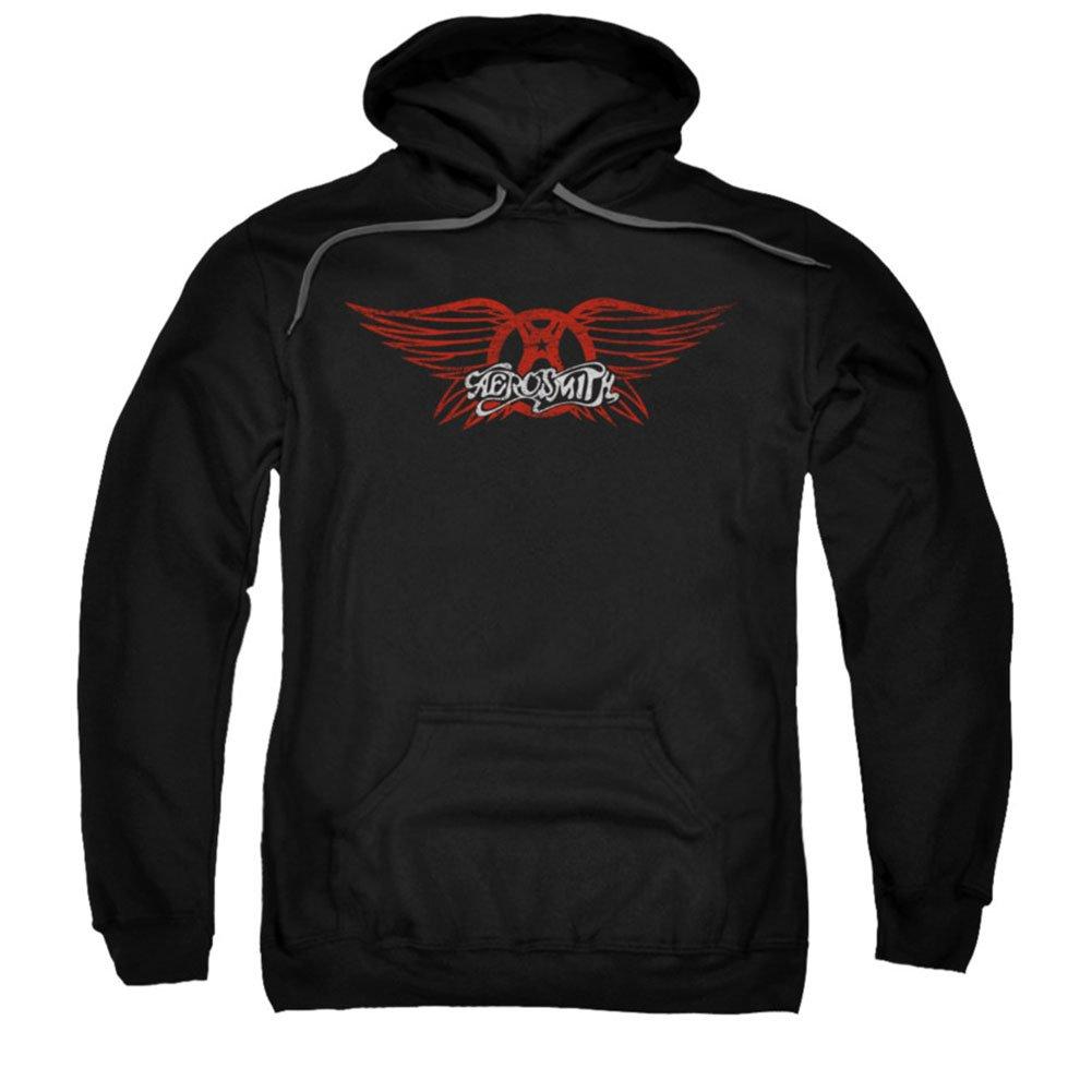 Aerosmith Winged Logo Pullover S Shirts