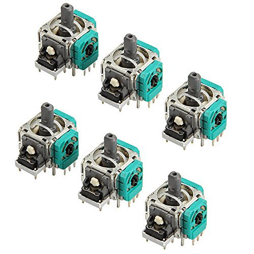 6x 3D Controller Joystick Axis Analog Sensor Module Replacement For Xbox One Controller For Sale