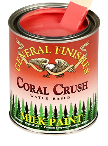 General Finishes, Coral Crush Milk Paint Pint