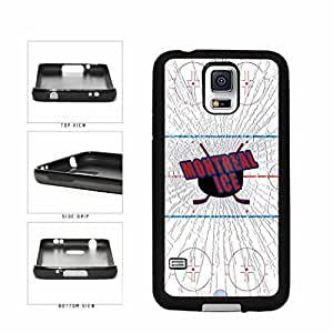 Montreal Ice TPU RUBBER SILICONE Phone Case Back Cover Samsung Galaxy S5 I9600