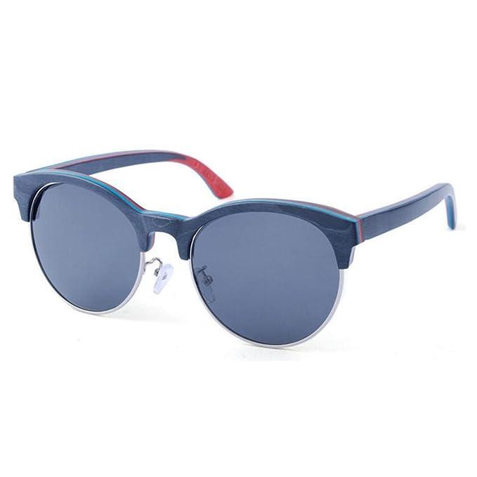 Metales Semi-bloque Retro Gafas De Sol Polarizadas Hombres Y ...