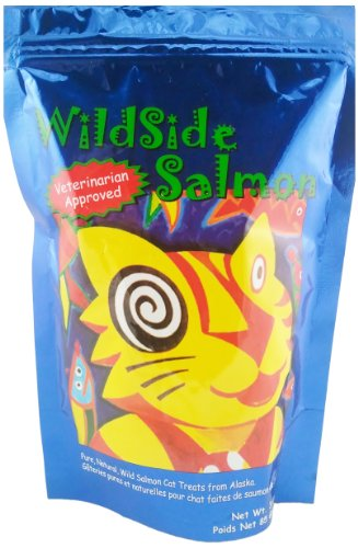 WildSide Salmon Cat Treats – 3 oz, My Pet Supplies