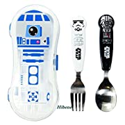 Star Wars Kids Spoon+Fork+R2D2 Case Set