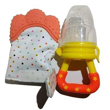 Amazon.com: ZonaBabe - Guantes de dentición para bebé, sin ...