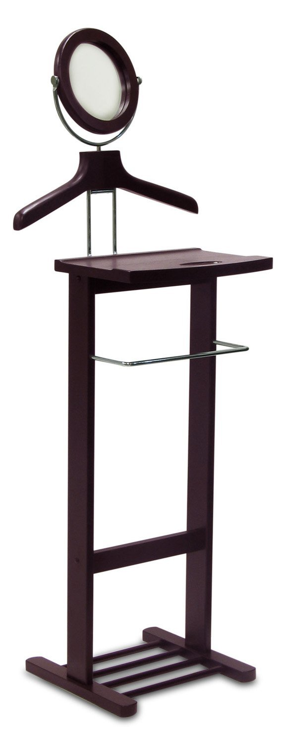 Winsome Wood Valet Stand, Espresso 92055