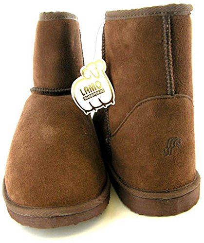 Lamo Womens W0815 Sheepskin Snowboot Chocolate