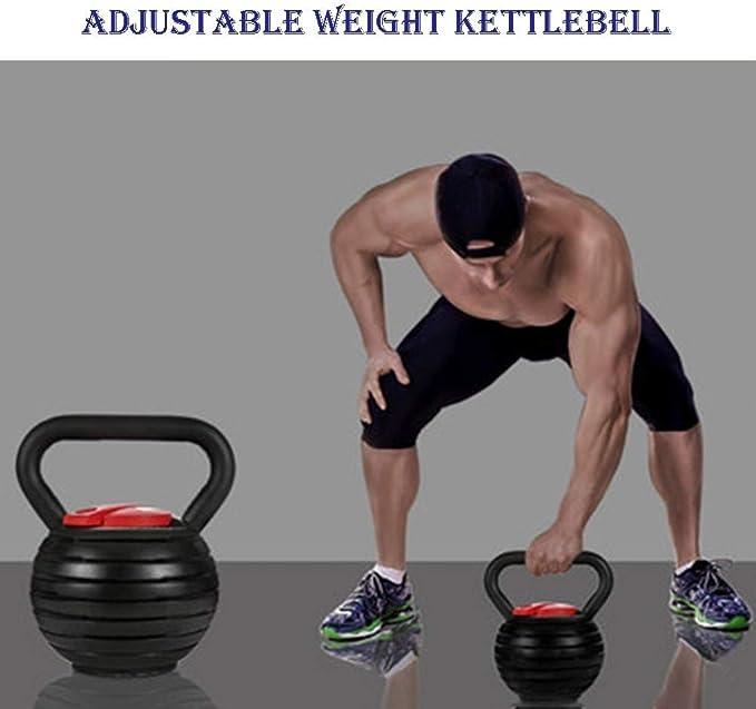 Kettlebells AGYH Fitness Pesas Rusas, 7 Pesas Ajustables, Equipo Portátil De Entrenamiento De Fuerza para Gimnasio En Casa, 2 Modelos: Amazon.es: Deportes y aire libre