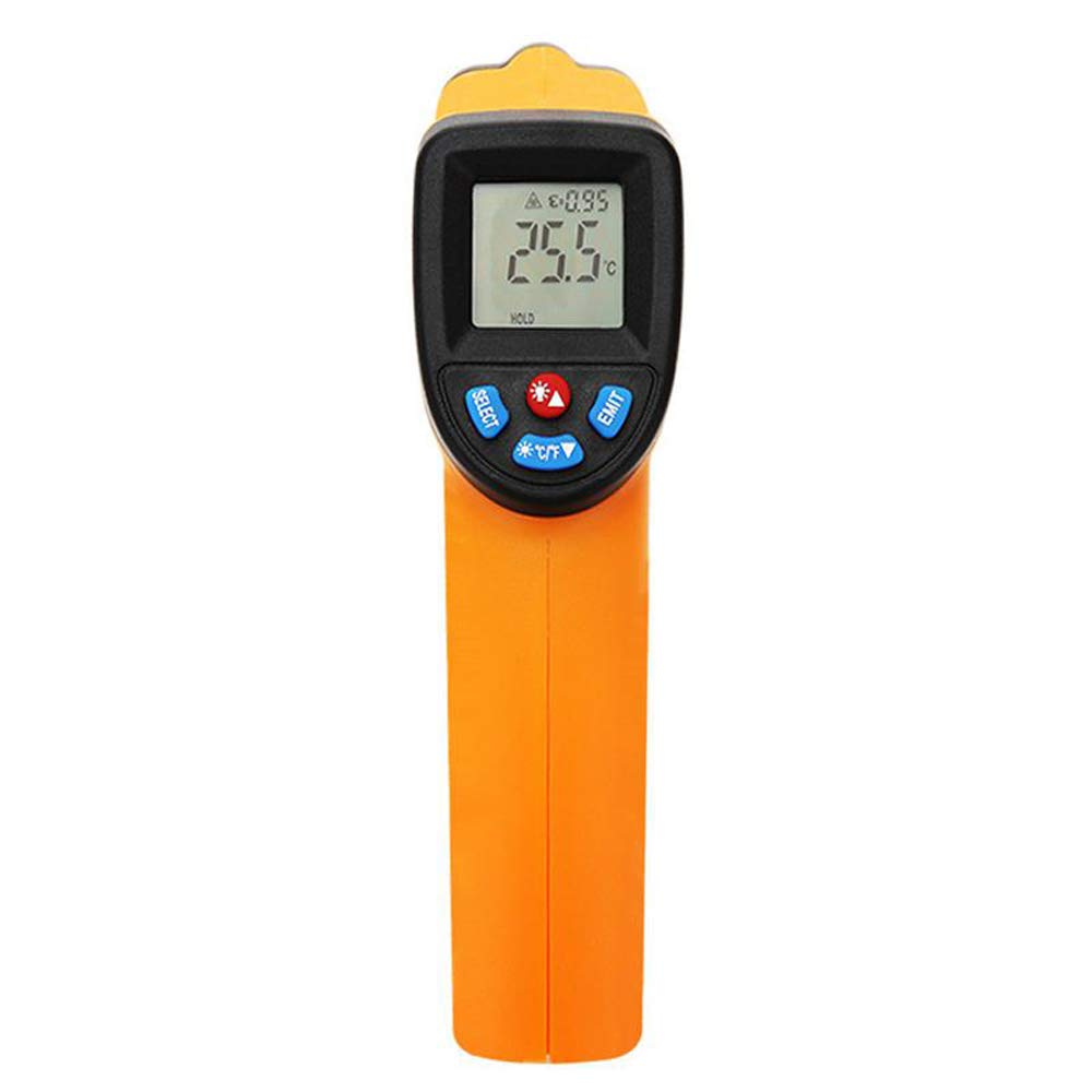 Digital Infrared Thermometer Pyrometer Aquarium Outdoor Thermo Detecter GM550-50~550 C