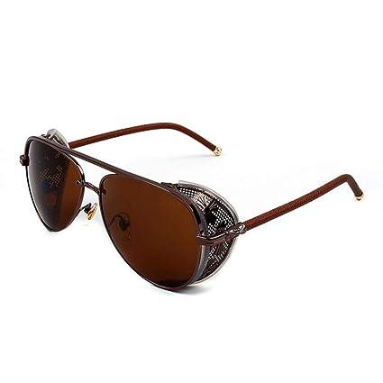 Amazon.com: QJKai Gafas de sol hechas a Mano, Hombres y ...