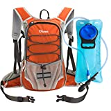 Dtown Insulated Hydration Camel Pack 70oz,Multicam Water Source with 2l Bladder for Women NEN Kids Backpacking,Small Lightweight Tactical Water Reservoir for Running Hiking Cycling Camping