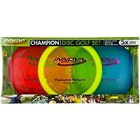 Innova - Champion Discs Golf Set - Driver, Rango Medio y Putter, 150 Gramos Cada uno, los Colores Pueden Variar (3 Unidades)