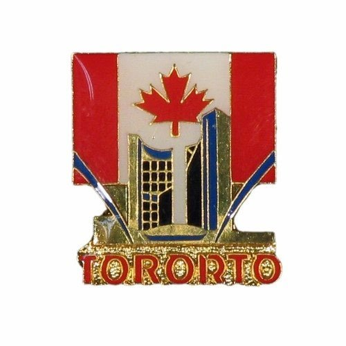 SUPERDAVES SUPERSTORE Toronto City Hall Canada Country Flag Lapel Pin Badge New (Canada Hall City)