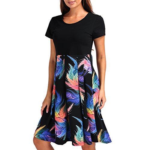 long black feather dress - 9