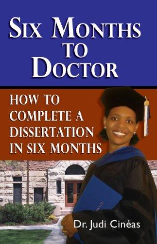 Complete dissertation month