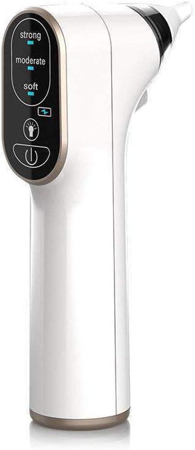 Aspirador Nasal para Bebés A Prueba De Agua con 4 Tamaños De Puntas Nasales Y 3 Niveles De Succión, Limpiador De Moco con Carga USB con LED: Amazon.es: Hogar
