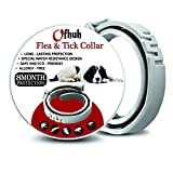 OFHUH Dog Flea and Tick Collar - Tick Prevention Treatment Up to 8-Month