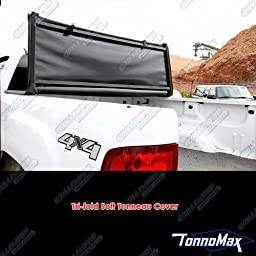 TonnoMax Chevrolet/Gmc S-10/Sonoma 6\' Short Bed 1994-2004 Soft Tri-Fold Bed Cover