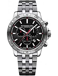 Men's 'Tango' Quartz Silver-Tone and Stainless Steel Diving Watch, Color:Silver (Model: 8560-ST2-20001)
