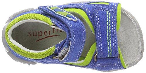 Superfit Baby Jungen Flow Sandalen Blau (Bluet Kombi)