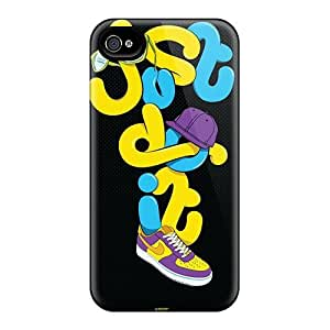 Luoxunmobile333 Scratch-free Phone Cases Samsung Galaxy Note3 - Retail Packaging - Just Do It Artwork