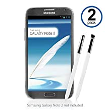 BoxWave Replacement S Pen for Samsung Galaxy Note 2 - Stylish and Highly Precise Replacement for Samsung Galaxy S Pen - Samsung Galaxy Note 2 Styluses (Winter White)