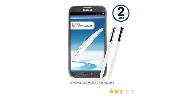 Galaxy Note 2 lápiz Capacitivo, BoxWave® [S Pen (2-Pack)] de ...