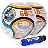The Mission Ball (English Soccer Ball - Biblical Gospel Sharing Tool Using The World's Most Popular Sport to Explain Christ - Perfect for Mission Trips, Shoeboxes, VBS, and Gifts (2 Pack)