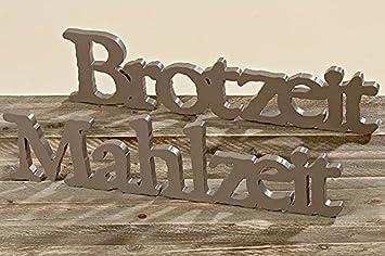 Gro/ßer Schriftzug ~ Traumschloss ~ Holz Dekoration Aufsteller Flur Wohnzimmer