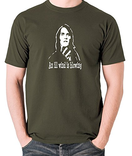 - The IT Crowd Inspired t Shirt - Richmond, an Ill Wind is Blowing Olive