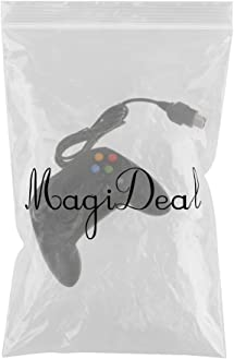 Amazon.com: MagiDeal Wired Game Controller for Microsoft Xbox - Black: Video Games