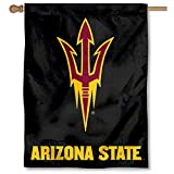 Cheap Arizona State University Pitchfork House Flag Banner
