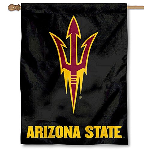 - Arizona State University Pitchfork House Flag Banner