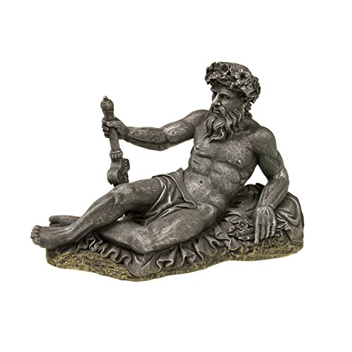 Blue Ribbon Small Neptune Statue Exotic Environments Aquarium Ornament