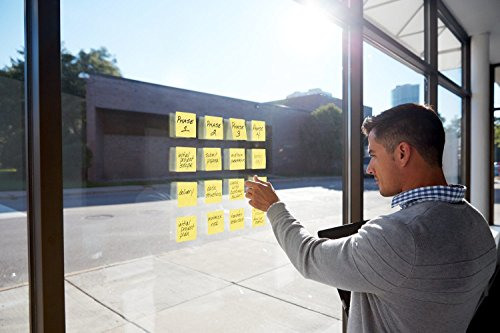 Post-it Super Sticky Pop-up Notes, 2x Sticking Power, 3 x 3-Inches, Canary Yellow, 12-Pads/Pack by Post-it (Image #1)