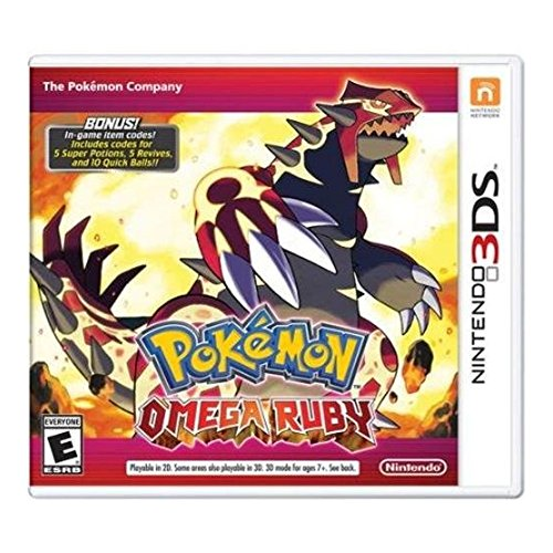 Top omega ruby 3ds