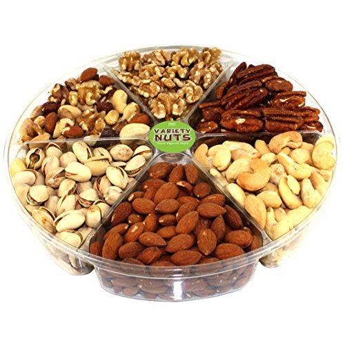 Premium Gourmet Nuts Assorted Gift Basket, Large Tray Fresh and Roasted. (Graduation Popcorn Bags compare prices)