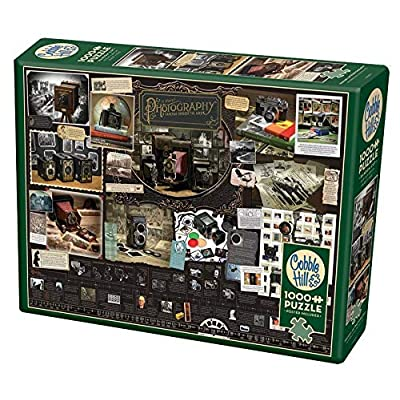 Cobble Hill History of Photography 1000 Piece Jigsaw Puzzle: Toys & Games