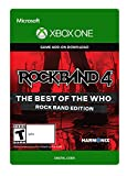 Rock Band 4: The Best Of The Who: Rock Band Edition - Xbox One Digital Code