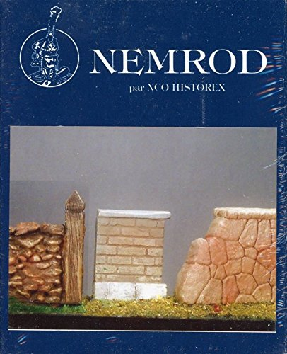 Nemrod/Historex 1:35 1:32 54mm Decor Murets Resin Diorama Kit #N010