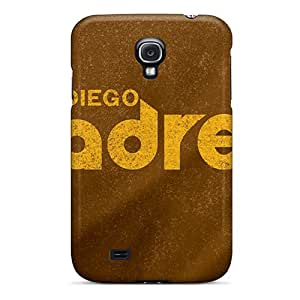 Galaxy S4 Hard Back With Bumper Silicone Gel Tpu Case Cover San Diego Padres