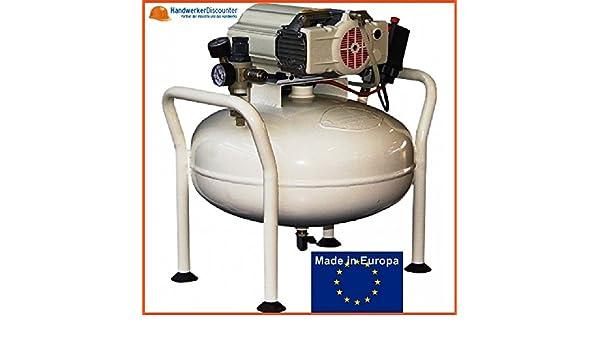 Aerotec silencioso Dental compresor Aero Medic XTR 2V-25L sin secador adecuado para Dental scienova y odontología, sin aceite: Amazon.es: Bricolaje y ...