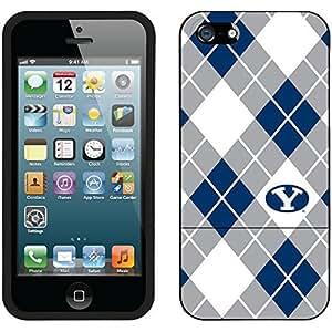 fahion caseiphone 4s Black Slider Case with Brigham Young Argyle Design