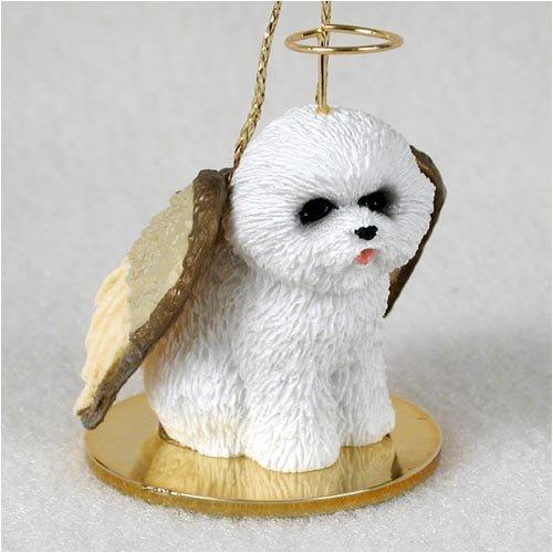 Conversation Concepts Bichon Frise Pet Angel Ornament