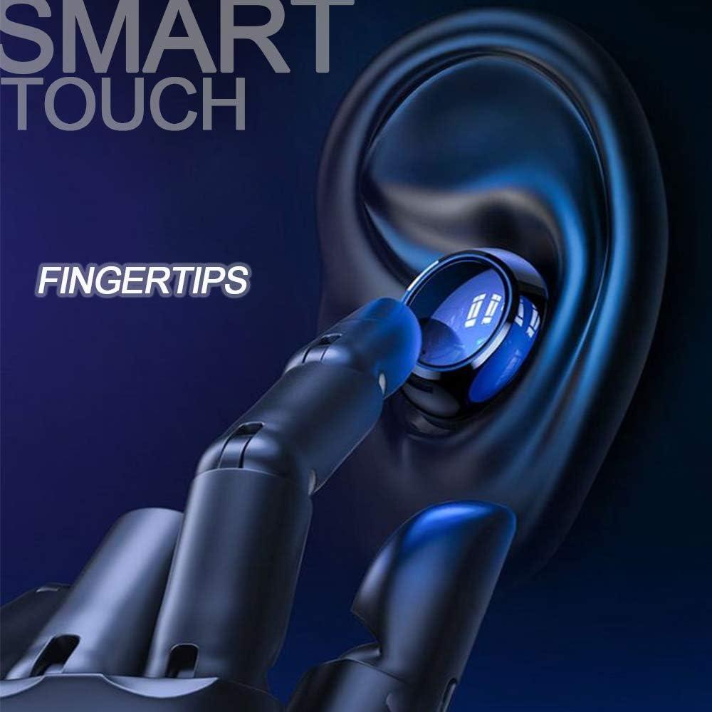 8D smart fingerprint Earphone support Bluetooth With super waterproof function