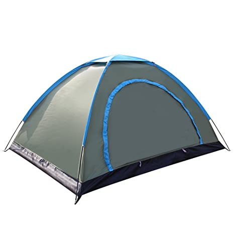 Techcell 2 Person Tent C&ing Instant Tent Waterproof Tent Backpacking Tents for C&ing Hiking Traveling(  sc 1 st  Amazon.com & Amazon.com : Techcell 2 Person Tent Camping Instant Tent ...