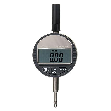 Portable Digital Dial Indicator 0.01mm 0.0005inch Range 0-25.4mm 1inch Gauge